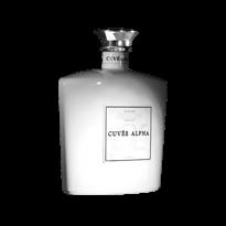 Cuvée Alpha, plaque bouteille pour la distillerie Guillon