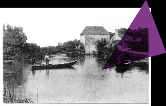 Mill et le moulin de Lézigné